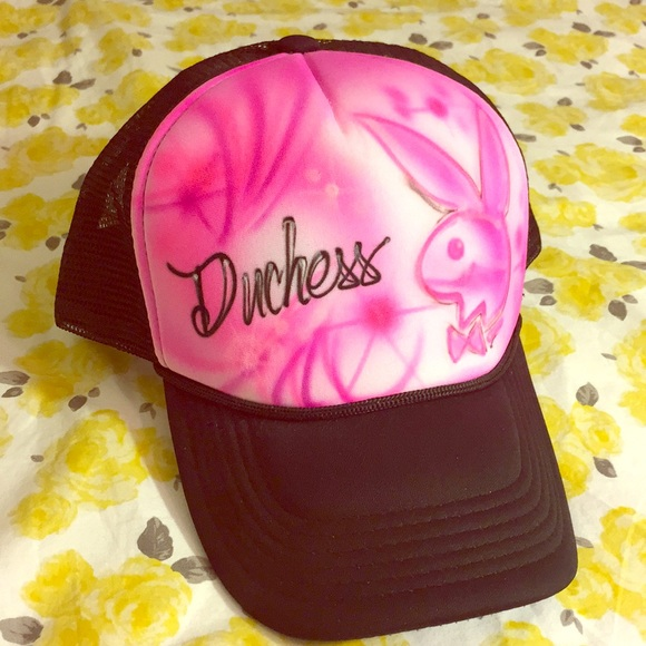 20ca2ade Accessories | Airbrushed Playboy Bunny Hat | Poshmark